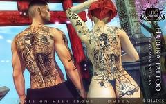 Haruka tattoo Unisex