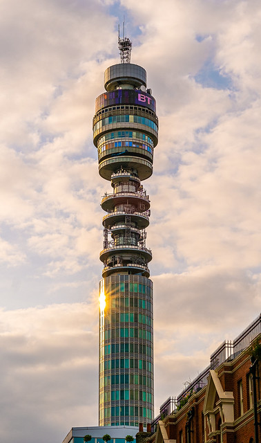 London - The BT - Post Office Tower (Fujifilm XE1 & XF 56mm f1.2 Prime) (1 of 1)