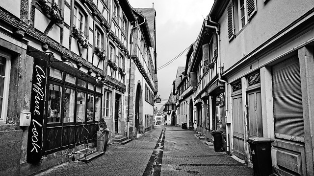 Bouxwiller, la Grand'rue
