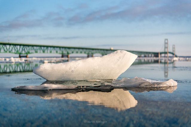 Mackinac Ice Floe