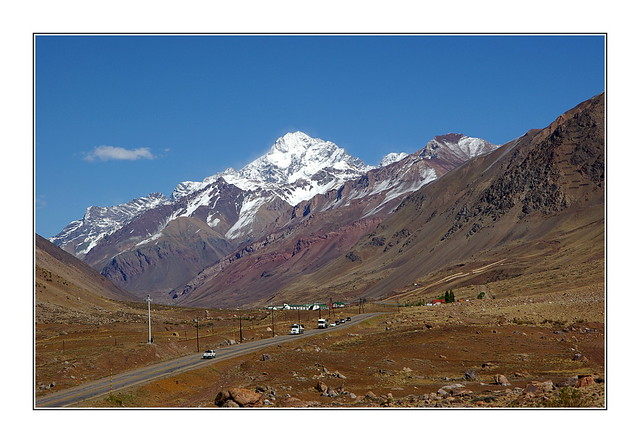 Aconcagua / route de Mendoza à Santiago