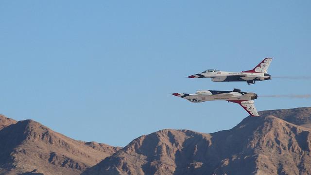 Week 46 - Seven Deadly Sins - Pride - USAF Thunderbirds Reflection Pass