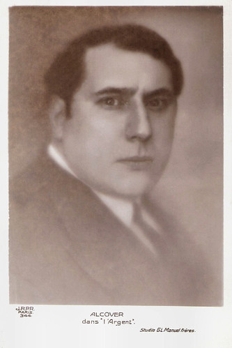 Pierre Alcover in L'Argent (1928)