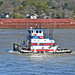 """Wendy C"", Mississippi River, New Orleans - 26 Feb 2020"