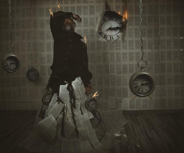 Time begins to burn