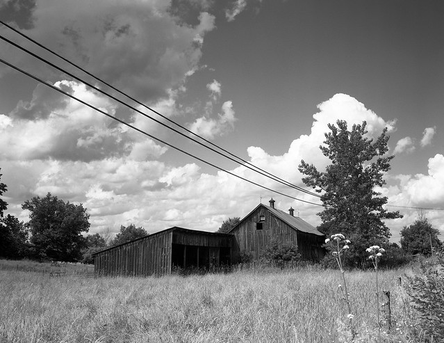 Old Barn in the North Country, New York