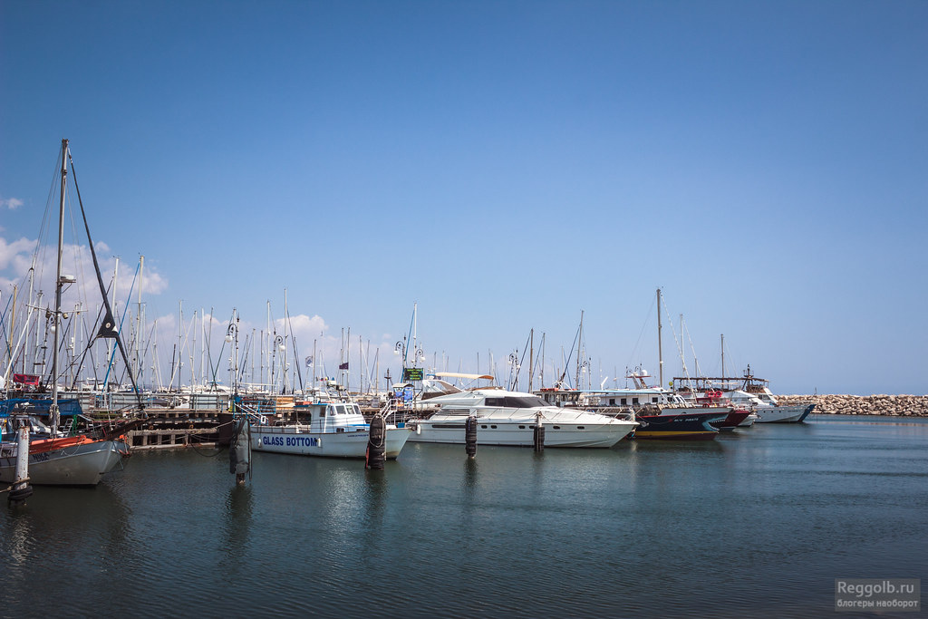 Ларнака Кипр море