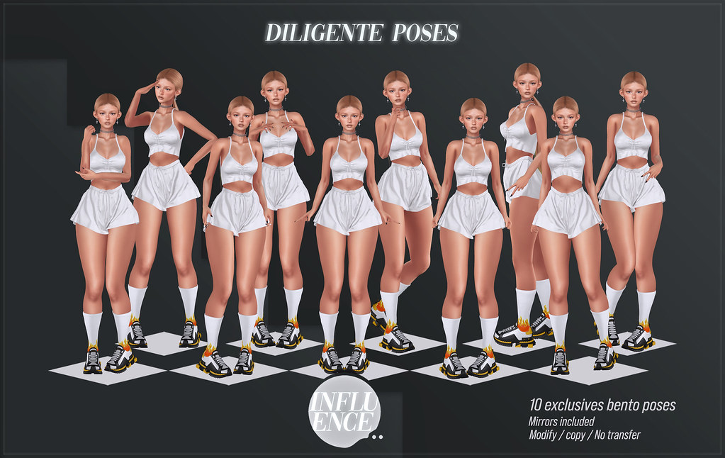 Diligente Poses