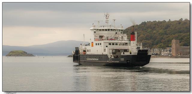 Oban, Scotland -8-ferry leaving