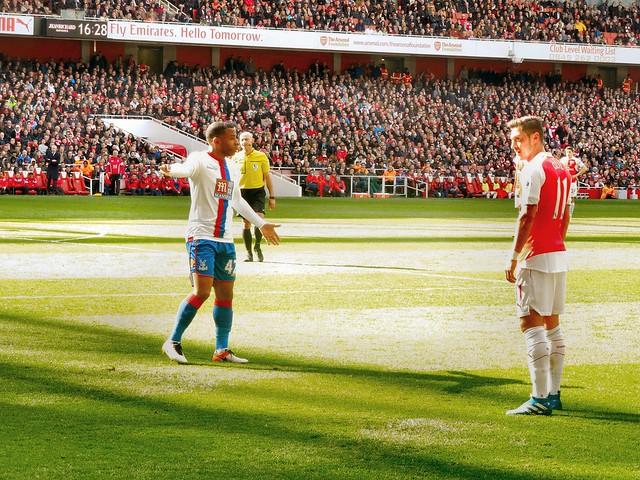Arsenal v Crystal Palace (17 April 2016)