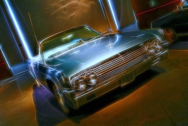 1964 Lincoln Continental (Fractalius - VII)
