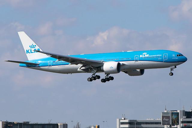 PH-BQE, Boeing 777-206 ER ,KLM Royal Dutch Airlines