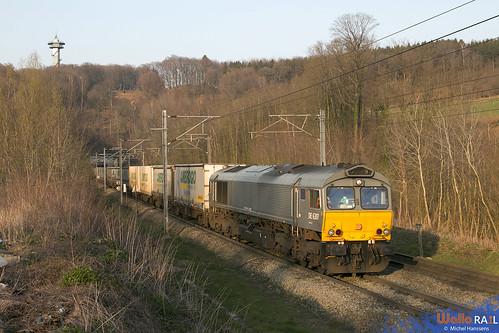 DE 6307 . Crossrail . Z 42692 . Gemmenich . 27.03.20.