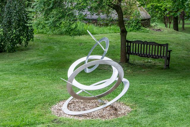 Sculpture Garden, Burghley House, England