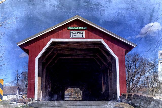 Dellville covered bridge