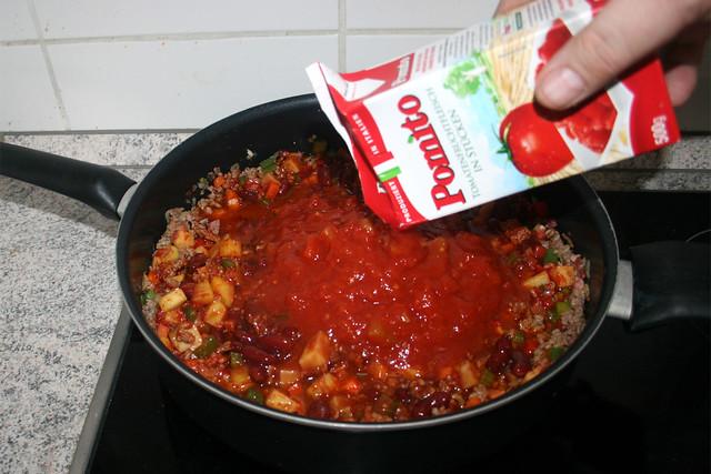 29 - Tomaten hinzufügen / Add tomatoes