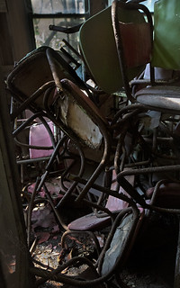 Tangle of chairs LV4A1157