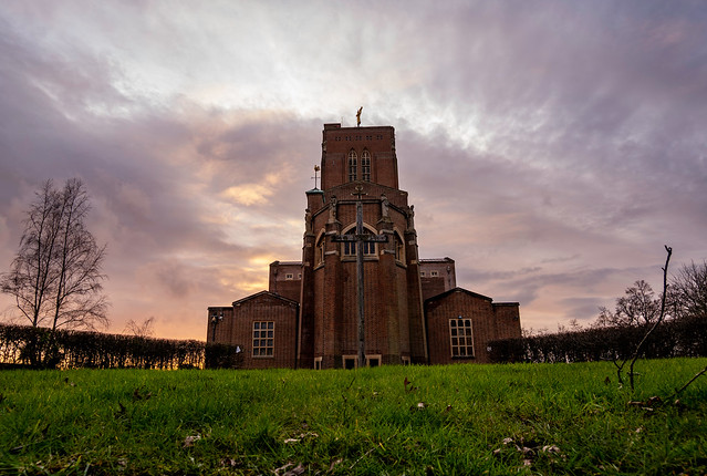 Guildford Cathedral from a different perspective