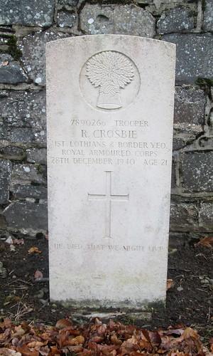 Innerleithen, War Grave