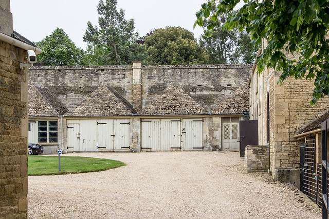 Stables, Burghley House, England