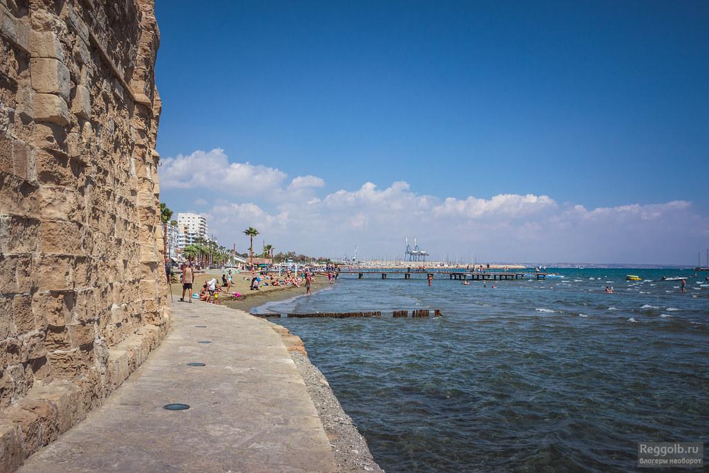 Кипр Ларнака море