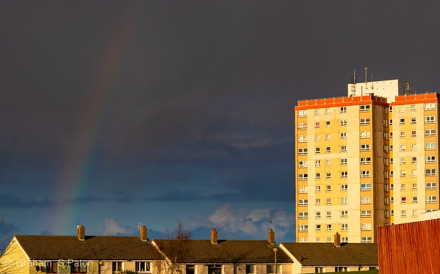 Somewhere under the rainbow.
