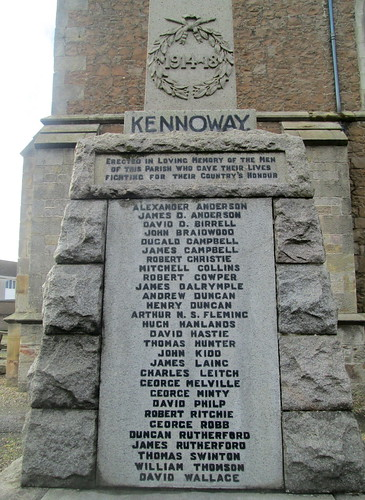 Great War Dedication, Kennoway War Memorial