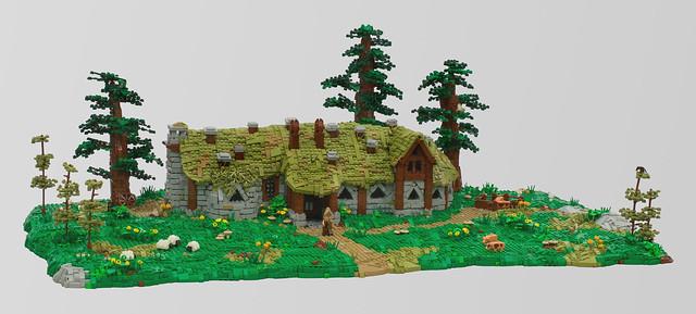 LEGO Hobbit Beorn's House