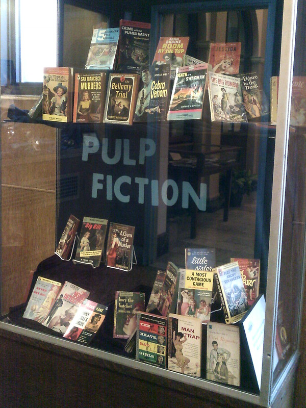 Display Cases at the Library