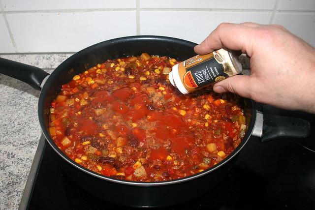 35 - Mit Salz, Pfeffer & Kreuzkümmel abschmecken / Taste with salt, pepper & cumin