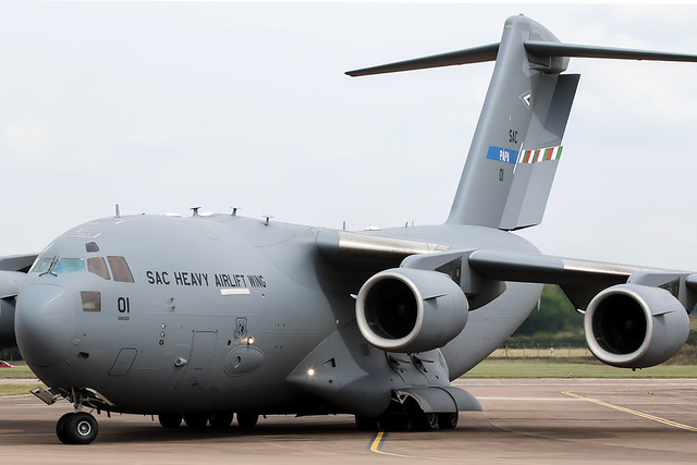Boeing C-17A Globemaster III 01 08-0001/SAC 01