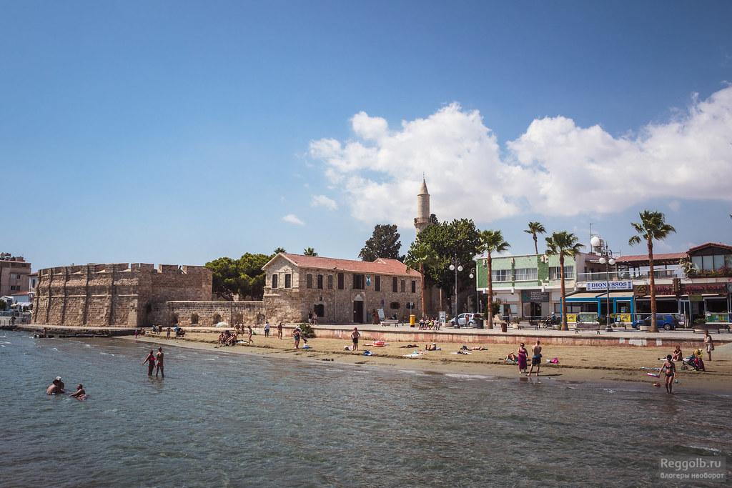 Кипр Ларнака крепость