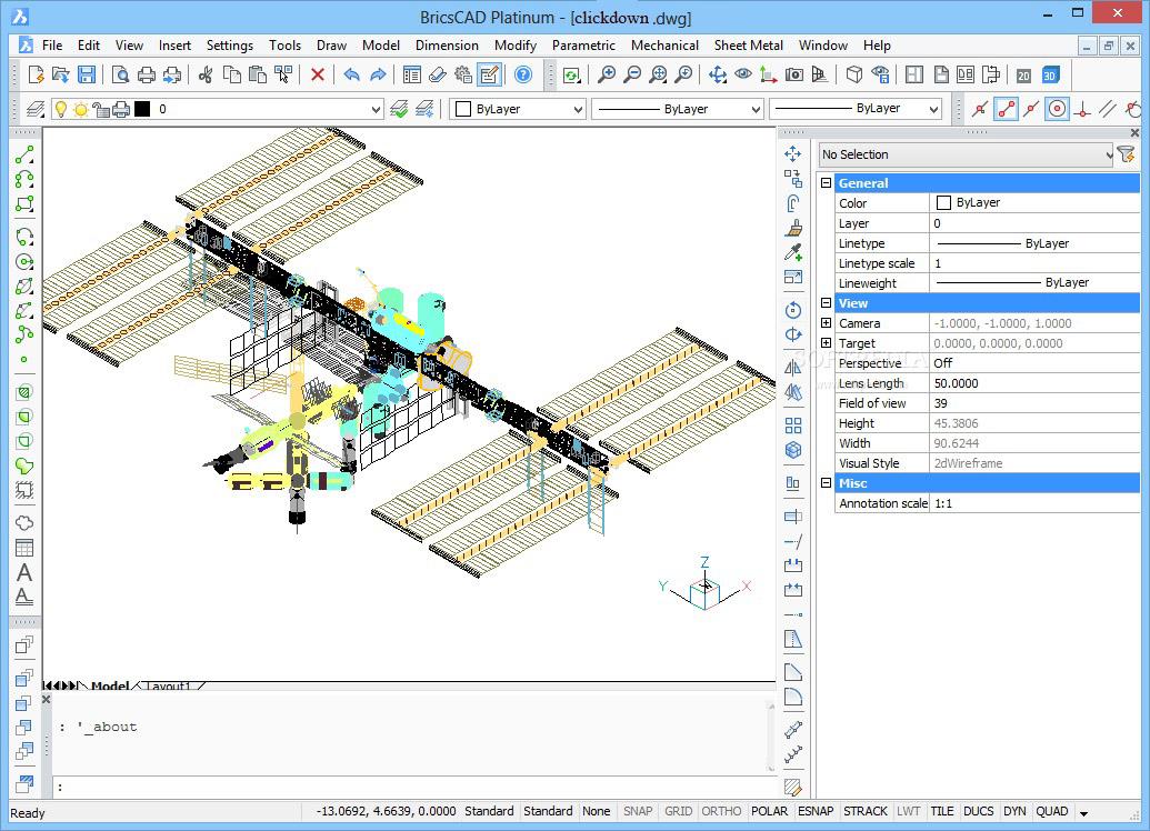 Working with BricsCAD Platinum 20.2 full license