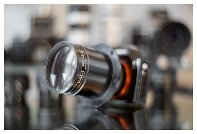a7 + Rodenstock XR-Heligon f=88mm