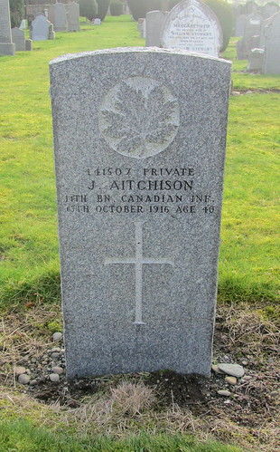Great War Grave, Innerleithen