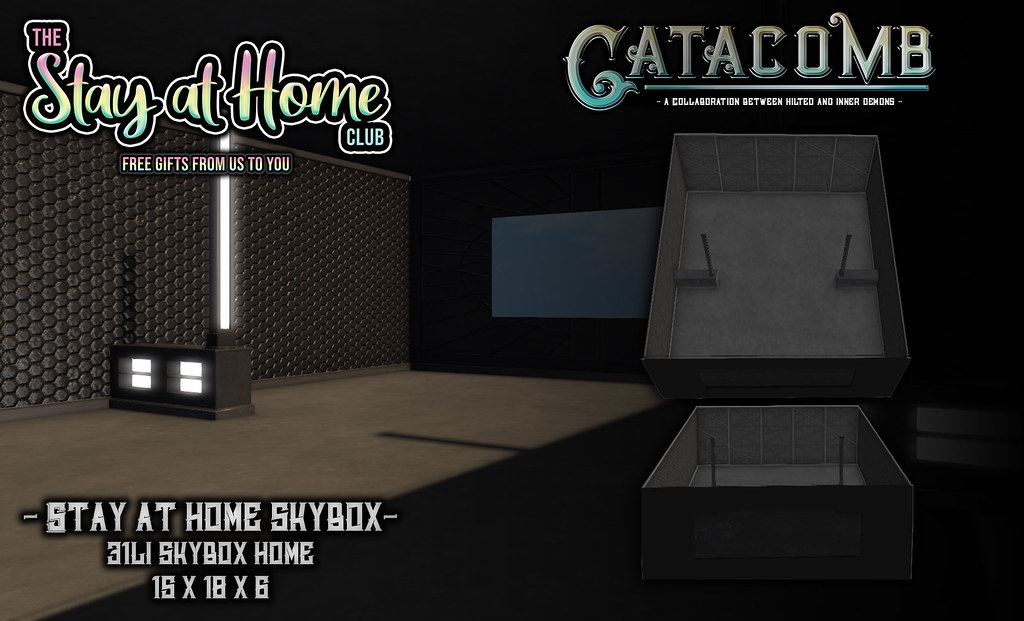 Catacomb – Stay at Home Skybox  @ Stay At Home Club