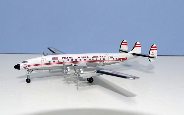 TWA Lockheed L-1649 Starliner 'Jetstream' N7310C