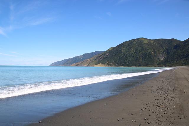 Deserted Ocean Beach