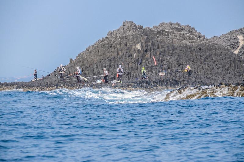 查母嶼磯釣客