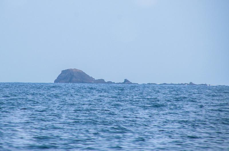 查母嶼海面北望查埔嶼