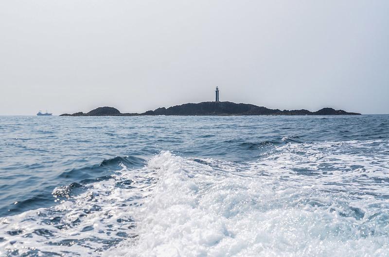 查母嶼西北海面東南望查母嶼 (2)