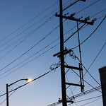 Utility Poles and the Sky
