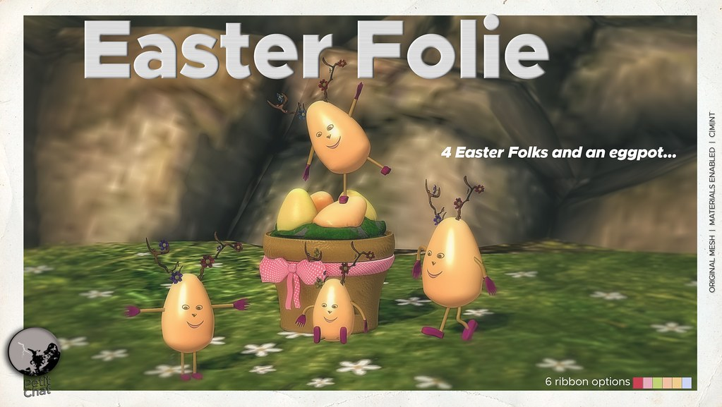 Mainstore release : Easter Folie
