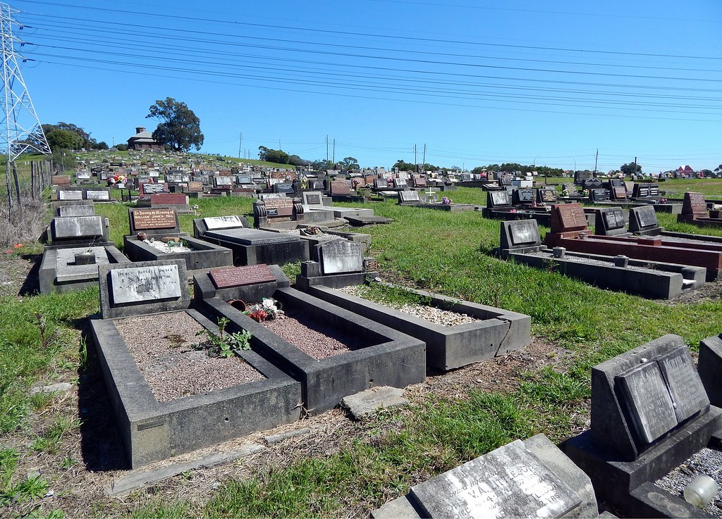 St Bartholomew's Church and Cemetery, Prospect, Sydney, NSW.