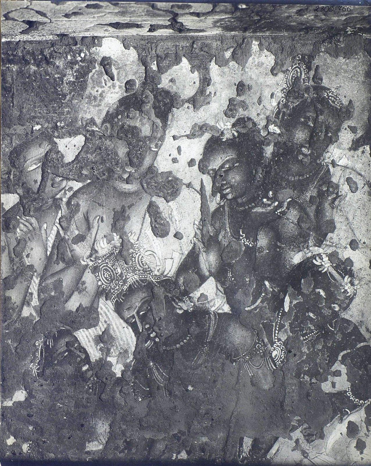Аджанта (фрагмент фрески во второй пещере)1