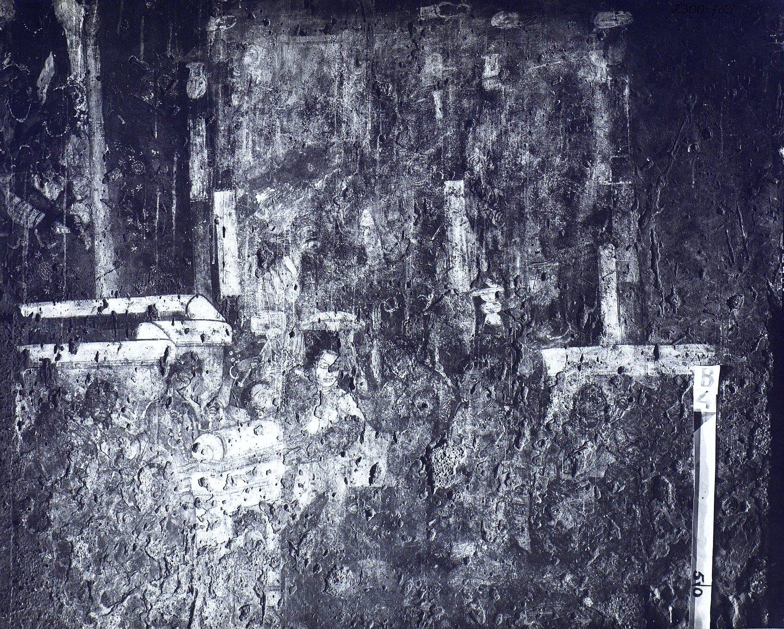 Аджанта (фрагмент фрески во второй пещере) (15)