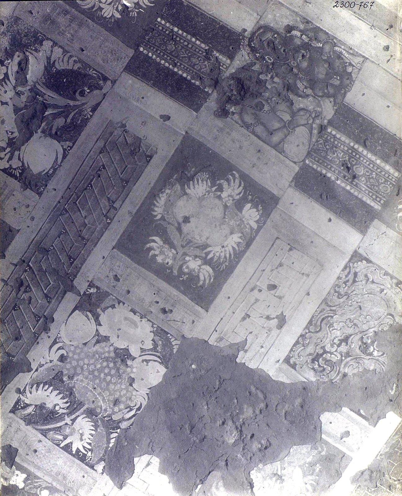 Аджанта (фрагмент фрески во второй пещере) (3)