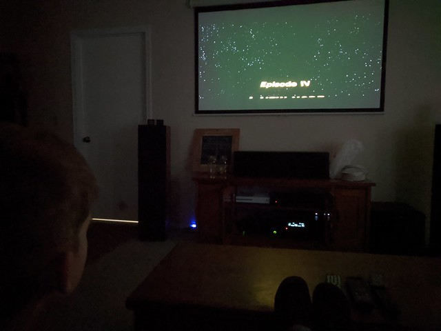 First Watching of Star Wars Ever