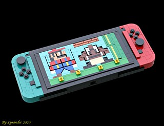 LEGO Nintendo Switch | by Lysander's Stud Studio
