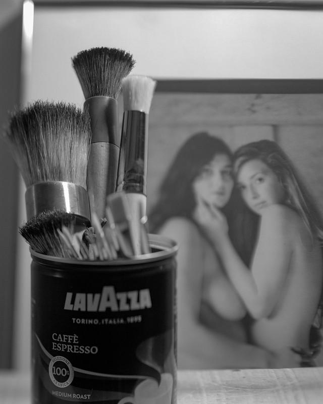Lavazza Paintbrushes, Voyeurs